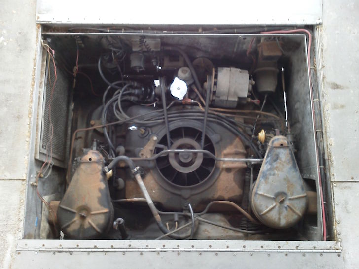 Corvair UltraVan engine