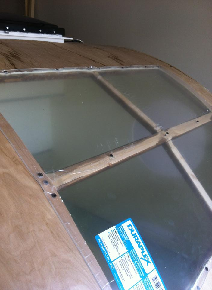 plexiglas window