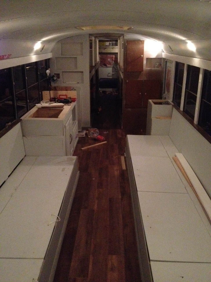 bus mostly finished
