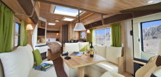 Swiss Chalet-Style Motorhome Makes You Think You're Living In A Ski Lodge High In The Alps