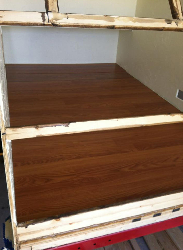 flooring installed