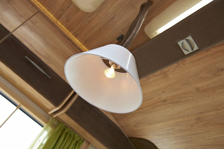 Motorhome light fixture