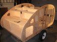 Garage-Built Wyoming Woody Teardrop Trailer With Detailed Plans