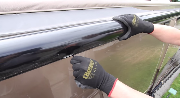 How To Replace A Carefree Of Colorado Awning Topper Yourself