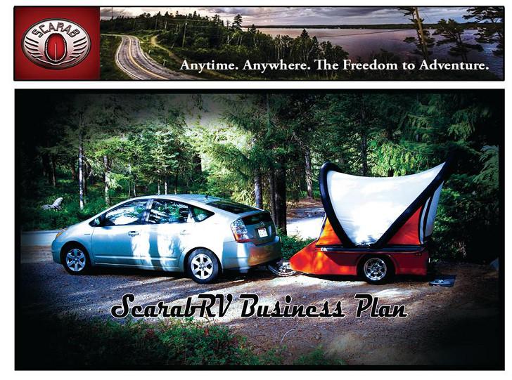 Ultralight pop up tent trailer