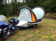 Ultralight Pop Up Tent Trailer Promises Remote Control Camping