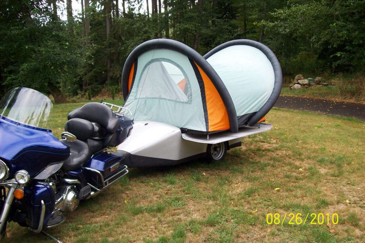 Ultralight pop up tent trailer & Ultralight Pop Up Tent Trailer With Remote Control