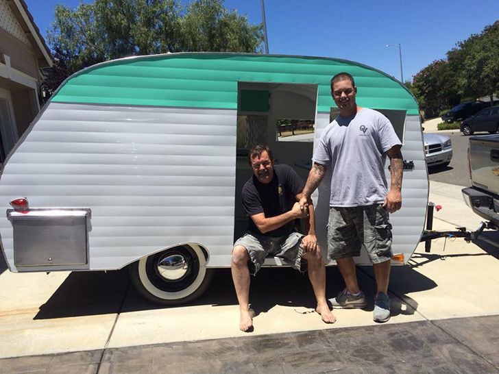 California Couple Builds Serro Scotty Camper From Scratch