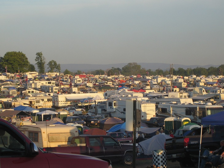 Camping at Talladega courtesy of Flickr/JaseMan