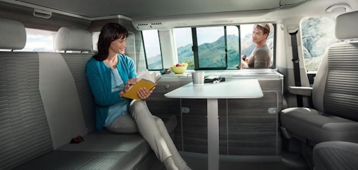 VW California interior