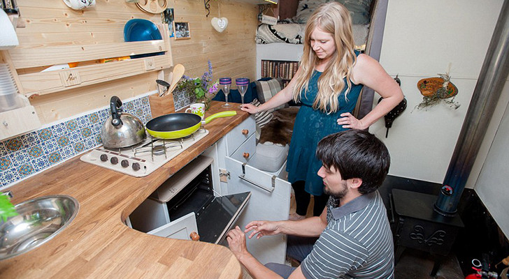 Converted Ford Van Becomes A Dream Apartment For This UK Couple