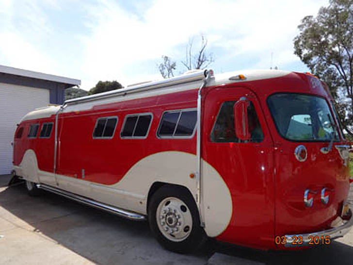 1946 Flxible Bus Conversion With 50's Diner Feel