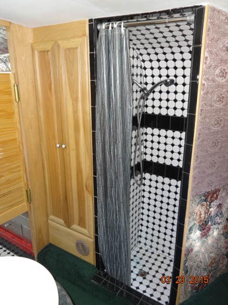 ceramic tile shower