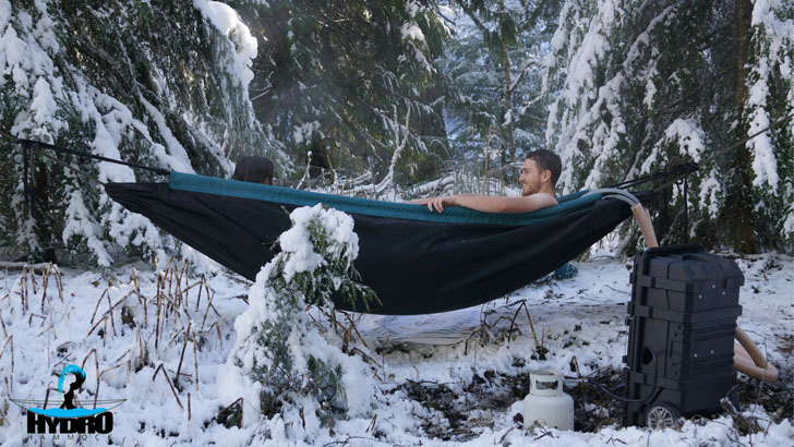 hammock with pump system