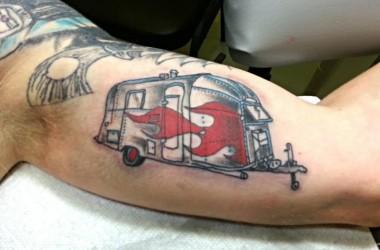 Airstream tattoo