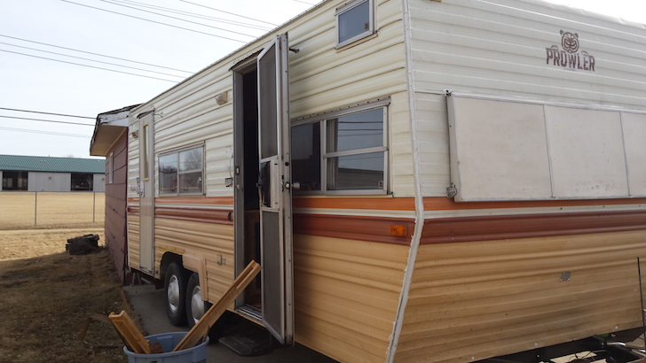 Husband And Wife Team Renovate 1979 Prowler Travel Trailer