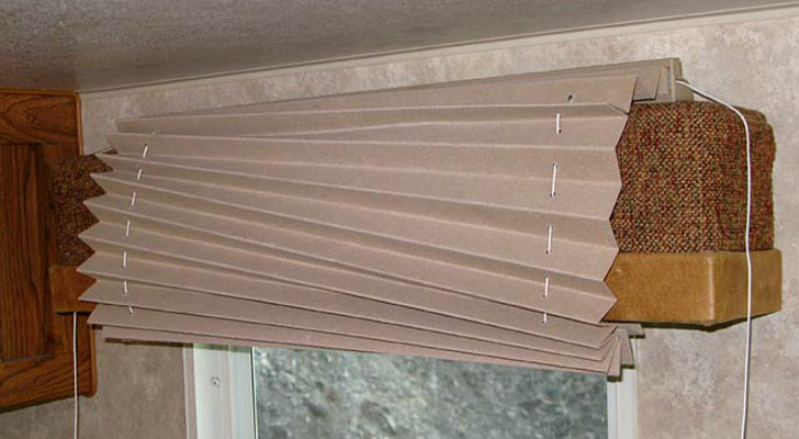 Restring RV Window Shades With A Sewing Machine Bobbin