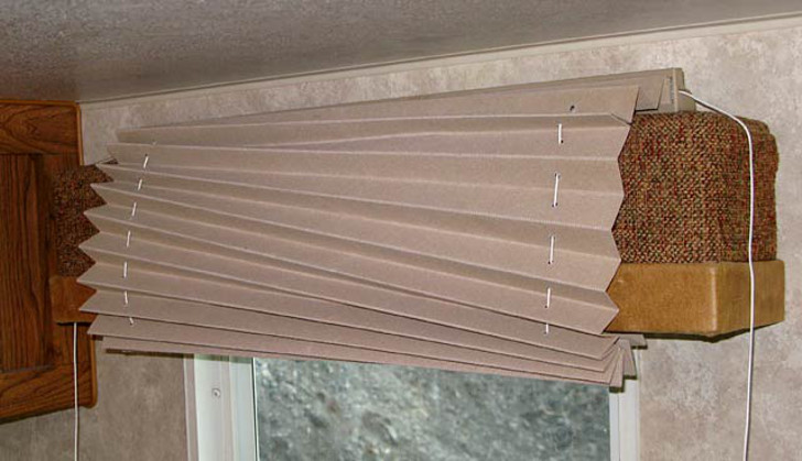restring RV window shades