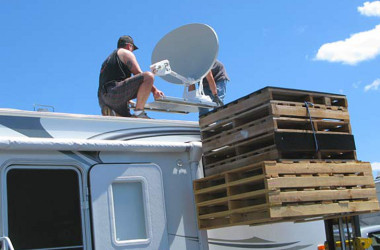 mobile satellite Internet for RVs