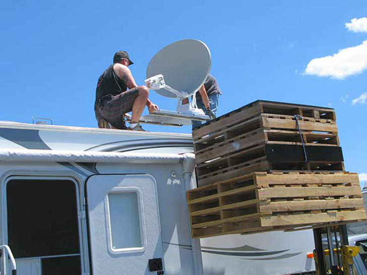 New Rv Datasat840 Mobile Satellite Internet For Rvs