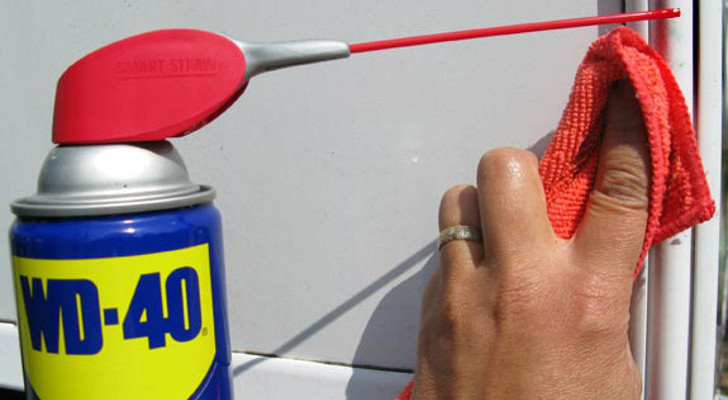 clean your RV with WD-40