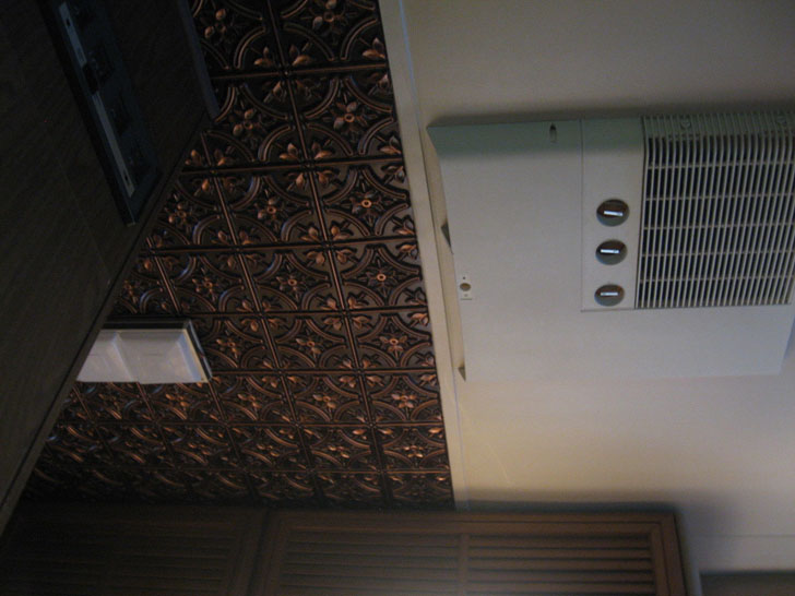 raised design ceiling tiles