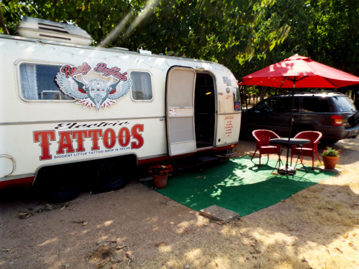 Airstream Tattoo Shop