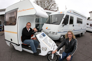 Car Designer Built This Bike Camper From Part Of A Bedford Campervan