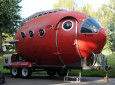 Rocket Inspired Atomic Camper For The Astronaut In All Of Us