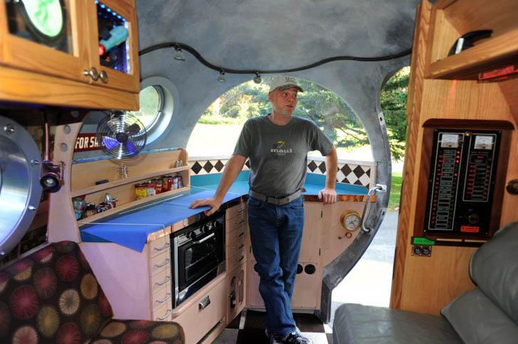 the atomic camper kitchen