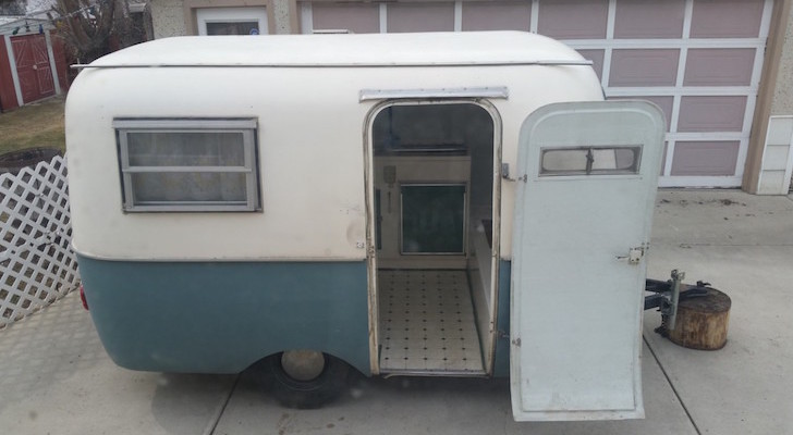 Bumper-Pulled 1968 Boler Travel Trailer Worthy Of Its New Candy Apple Red Paint Scheme