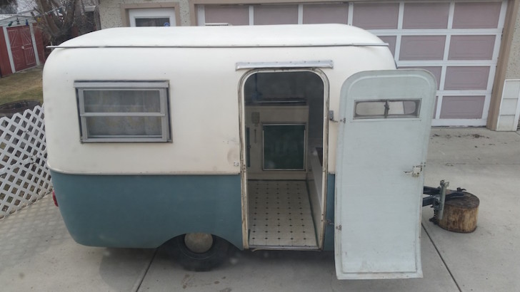 Boler trailer in rough condition