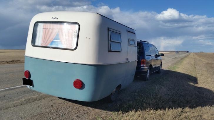 Boler trailer