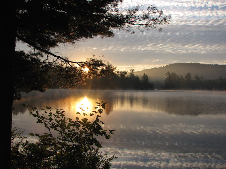 Cranberry Lake campground