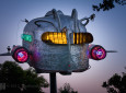 Vintage Curtis Wright Trailer Heavily Modified Into Stunning Sculpture