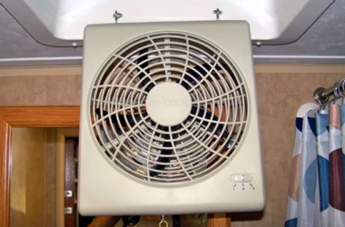How To Install A 12-Volt Ceiling Vent Fan In Your RV For Next To Nothing