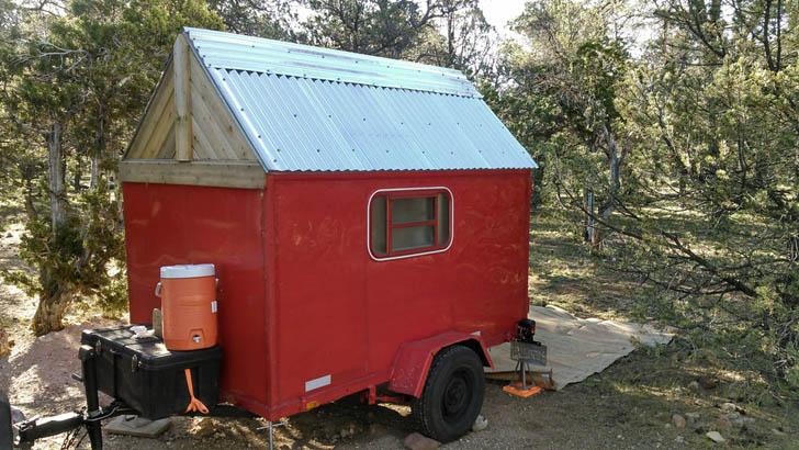 camper in camp