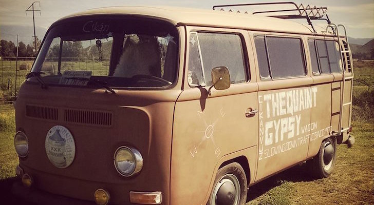 1970 Volkswagen Type 2 Kombi Lovingly Reimagined As Quaint Gypsy Wagon