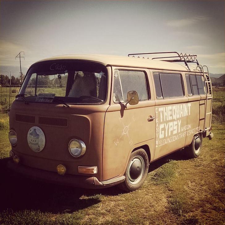 Gypsy wagon motorhome