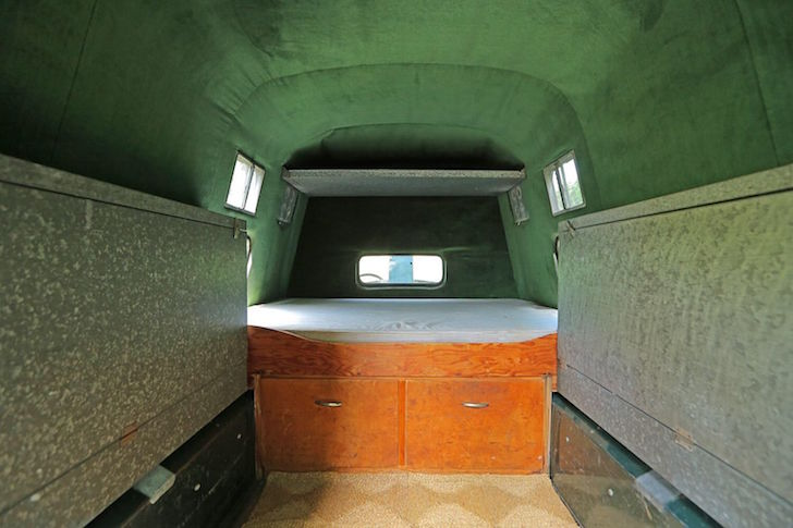 Inside living space