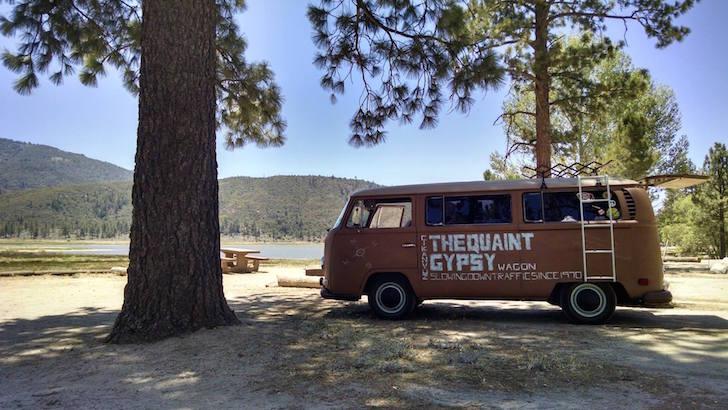 Lake Hemet camping