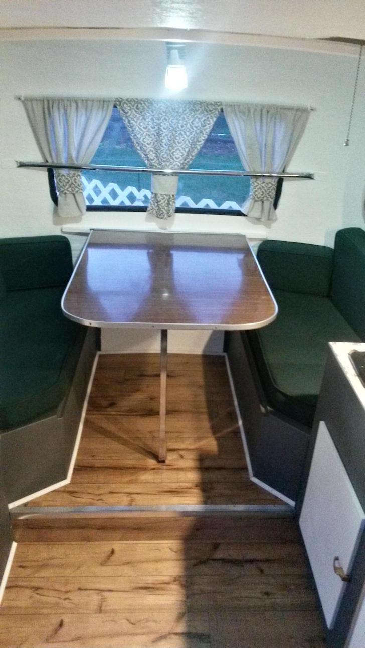 Moving in trailer furniture