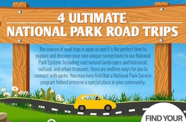 4 National Park Road Trips Detailed In This One Awesome Infographic