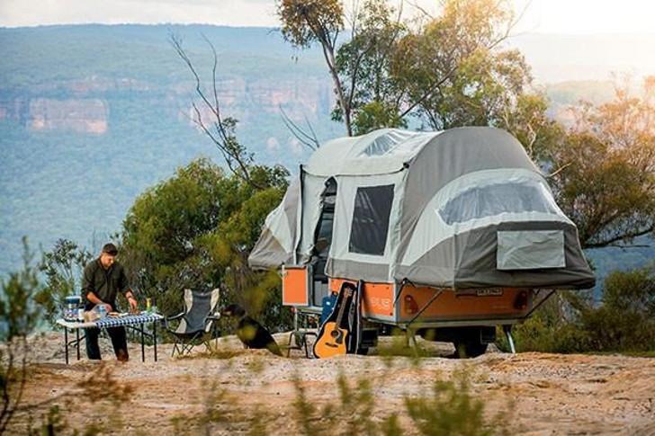 Popup trailer rental