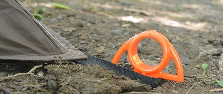 Orange-Screw-groundanchor-camping