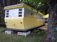 Once A Tired Rental, This 1955 Smoker Aristocrat Mobile Home Could Now Be A Movie Set