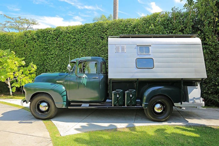 Steve Mcqueen Owned This 1952 Chevrolet 3800 Camper