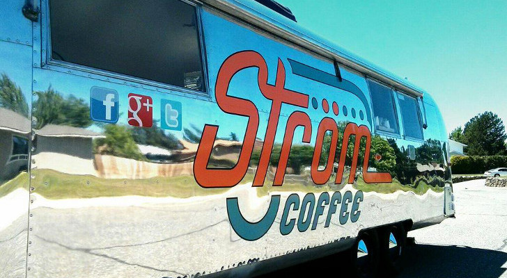 Vintage Camping Trailers Make Popular Mobile Coffee Shops