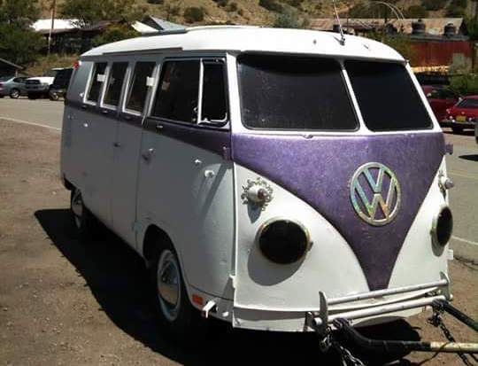 Former VW Microbus Now A Four-Wheels-Down Trailer