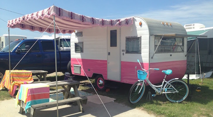 How To Repair Or Replace A Pole And Rope Awning On Your Vintage Camper
